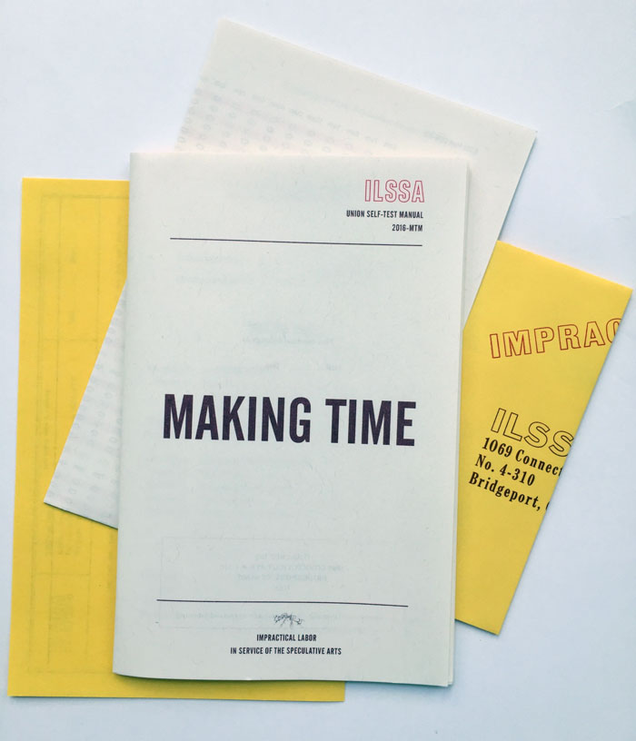 the Making Time self-test publication