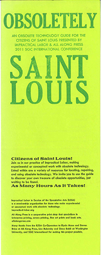 an obsolete tecnhnology guide for the citizens of st louis